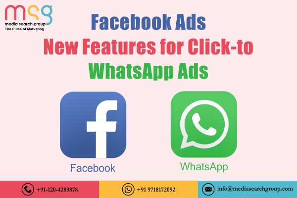 Facebook Launches Clicks-to-Whatsapp Chat Button for Facebook Ads
