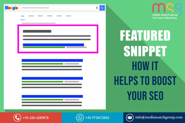 Featured Snippet - How It Helps to Boost Your SEO