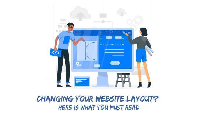 Changing Your Website Layout